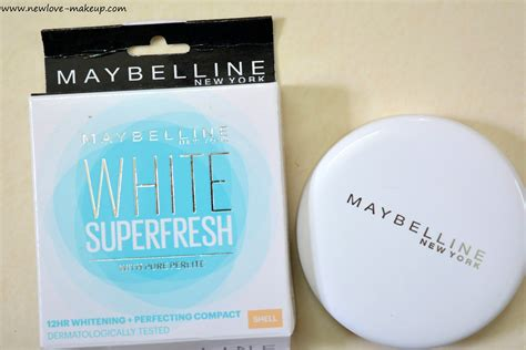 Bedak Maybelline Compact Powder maybelline white fresh compact powder shell review fotd new makeup