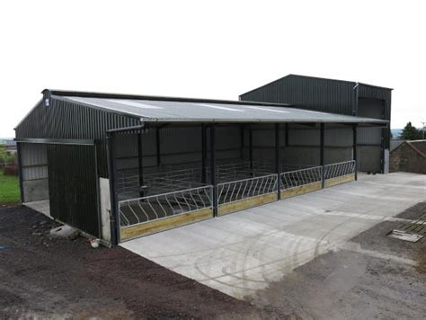 slatted shed  feed store combination  january