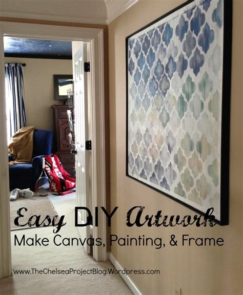 make your own artwork for home decor remodelaholic 60 budget friendly diy large wall decor ideas