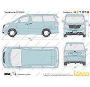 The Blueprintscom  Vector Drawing Toyota Alphard G