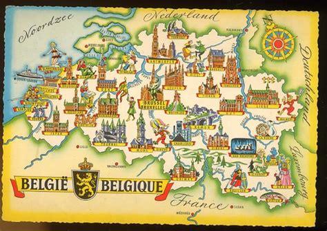 belgique carte touristique archives voyages cartes