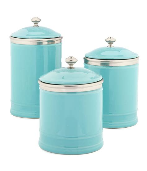kitchen canisters ceramic kitchen everything turquoise page 2
