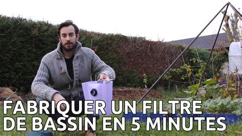Aspirateur De Piscine Hors Sol 559 by Fabriquer Filtre De Bassin Et Aquarium Pour Pas Cher