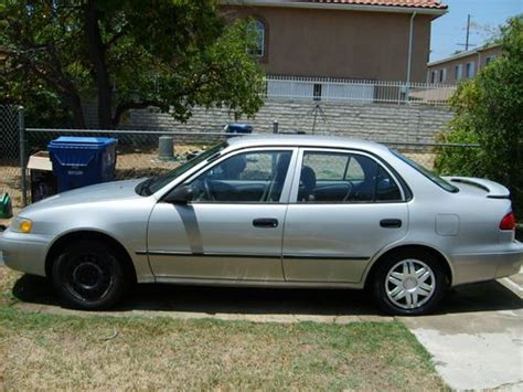 Toyota Corolla 2000 Automatic Find New 2000 Toyota Corolla Ce Silver Power Everything