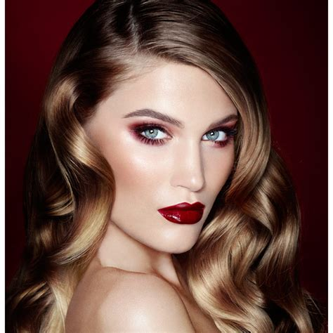 lipstick latest glamour the vintage v signature look charlotte tilbury