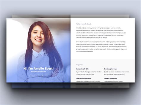 10 Free Bootstrap Html Online Resume Templates For Cv Website 2018 Resume Website Template Free