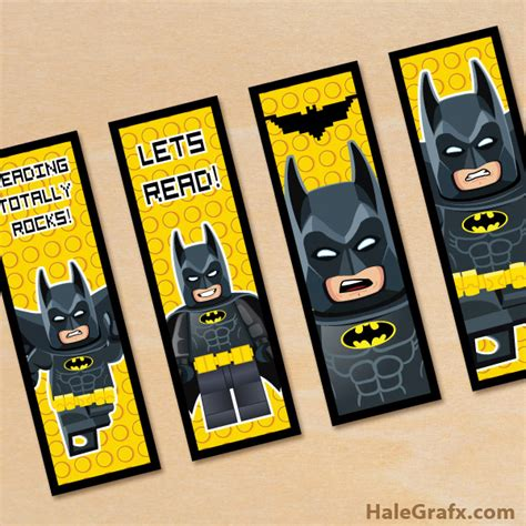 printable batman bookmarks free printable lego batman bookmarks lego batman super