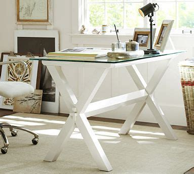 10 Best Images About Decorating Office Space On Pinterest Pottery Barn White Desk