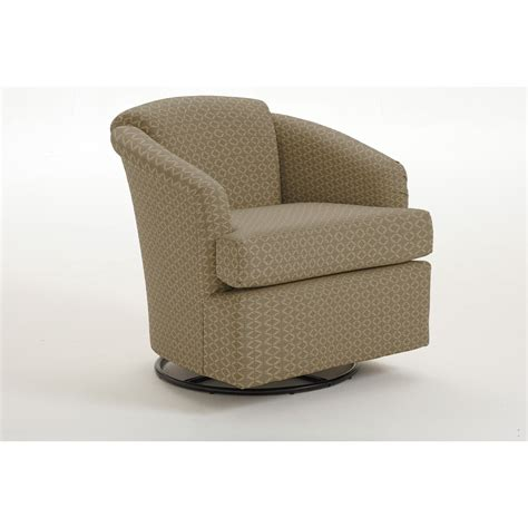 Best Home Furnishings Chairs Swivel Barrel 2567 1 Cass Swivel Barrel Chair