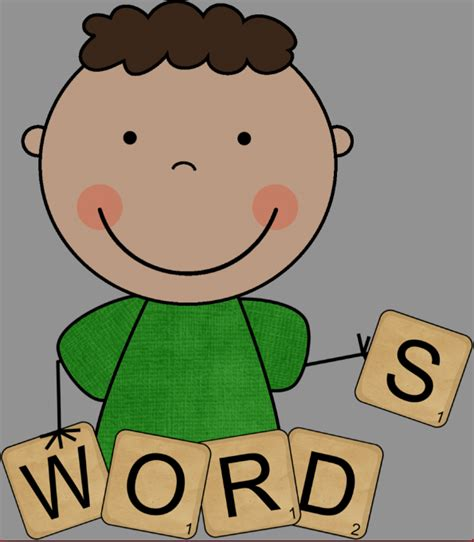 clipart words word clipart spelling pencil and in color word clipart