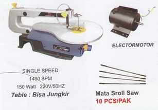 Gergaji Jet Saw 7 16a mesin scroll saw 16 products of mesin potong