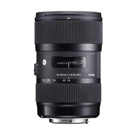 Lensa Sigma 18 35 F 1 8 jual sigma lensa 18 35mm f 1 8 hsm af for nikon a