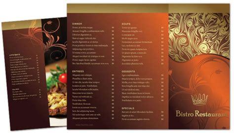 cool restaurant brochure templates