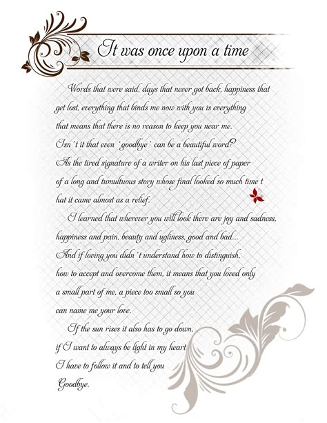 Goodbye Letter Sle For A Loved One Farewell Letters Work Just B Cause