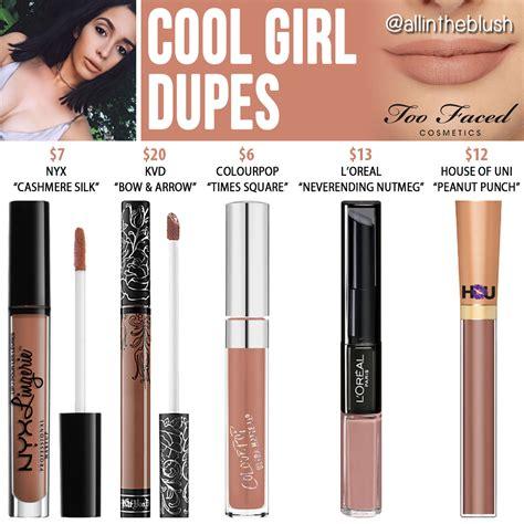 Melted Matte Liquid faced cool melted matte liquid lipstick dupes