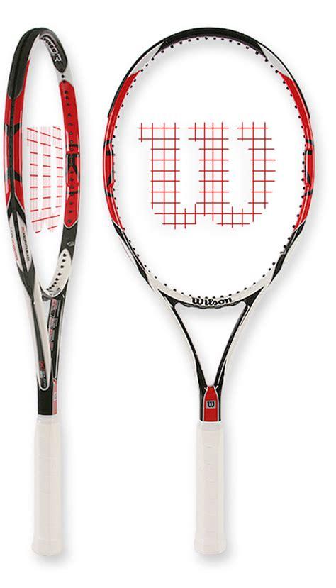 Raket Wilson K Factor tennis warehouse wilson ksix one 95 tennis racquet review