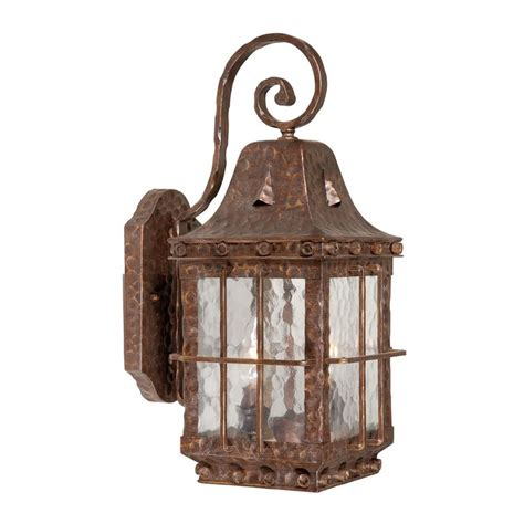colonial outdoor lighting shop cascadia lighting edinburgh 18 in h colonial iron outdoor wall light at lowes