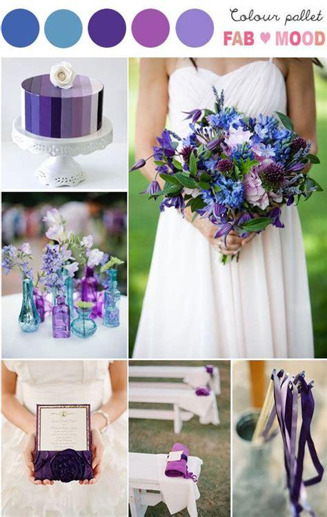 themes of colour purple purple wedding bouquet purple blue weddings blue