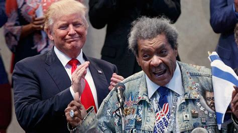 trump home hallmart collectibles partner to introduce don king uses n word while introducing donald trump nbc