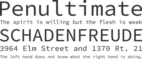 Code Light Font by Source Code Pro Font Free By Adobe 187 Font Squirrel