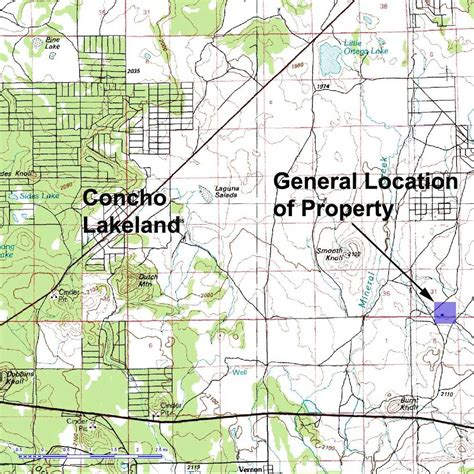 concho arizona map 27 acs of arizona land near show low concho lakeland