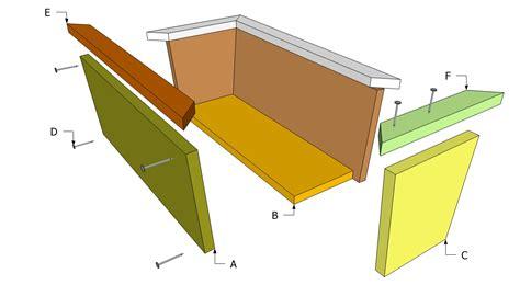 planter box plans myoutdoorplans  woodworking