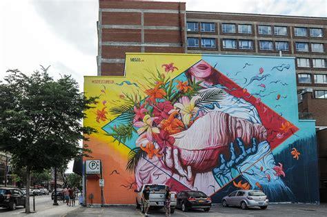 street art  montreal  mural festival snoopsmaus