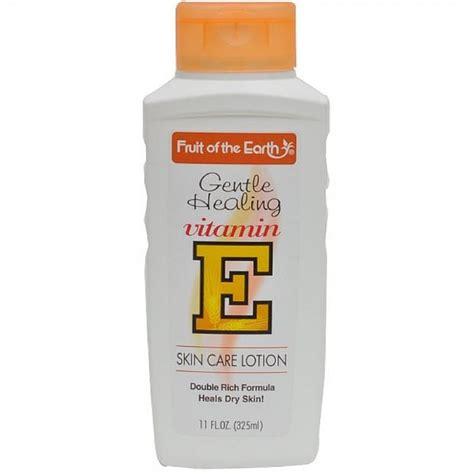 fruit of the earth fruit of the earth vitamin e skin care lotion 11 oz
