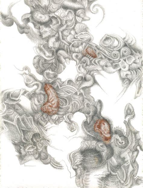 A 1494 C 3858 By Sinarteknik huitres de chablis i silverpoint prismacolor jeannine