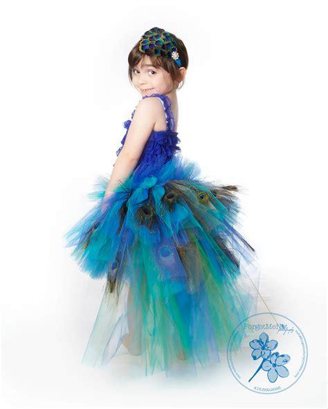 Handmade Peacock Costume - peacocks dresses tutu dress birthday tutu dress