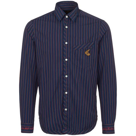 Classic Striped Shirts by Vivienne Westwood Striped Classic Shirt 66071693 0438 Us