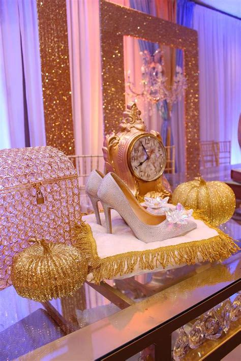 quinceanera themed birthday party cinderella quincea 241 era party ideas photo 9 of 25 catch