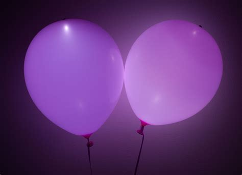 Pink led balloons superior celebrations