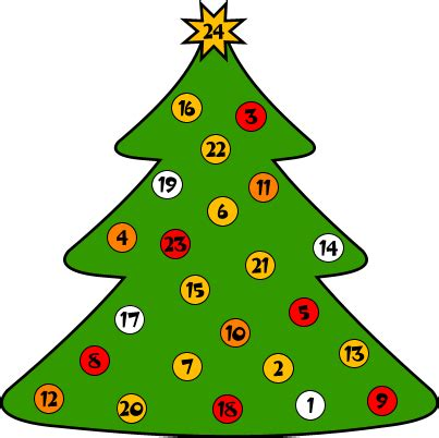 printable christmas tree countdown advent calendar to colour in new calendar template site