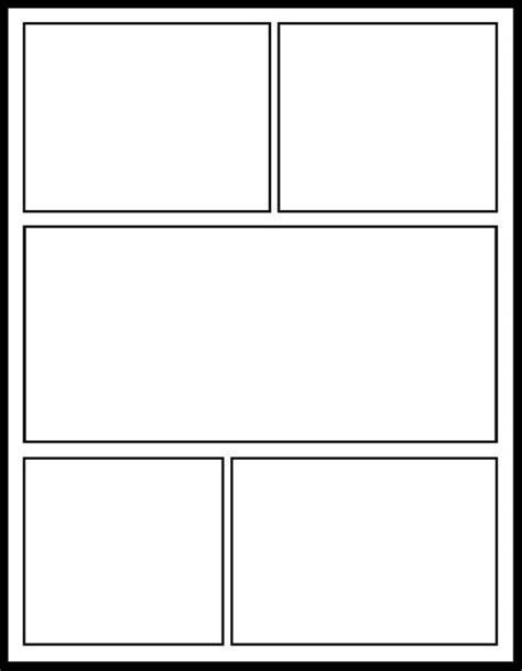 Printable Blank Comic Template For by Comic Template For My Comics Unit School Stuff