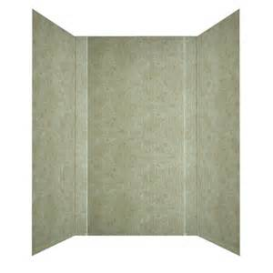 shop mirroflex subway travertine fiberglass plastic
