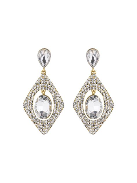 mikey design hanging centre earring lyst