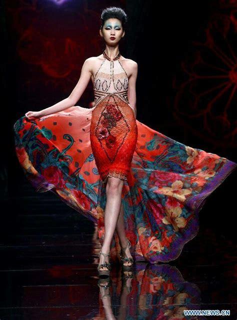 Dress Fashion By Hao Hao deng hao china chinoiserie china fashion