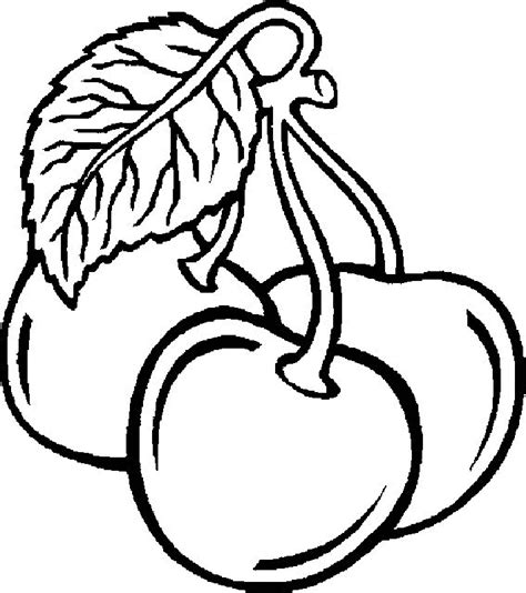 printable fruit coloring pages coloring home