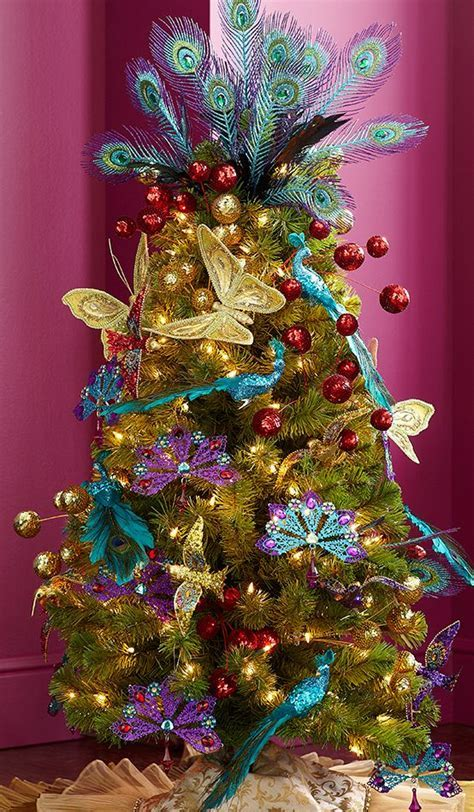 86 best Peacock Christmas Ideas images on Pinterest