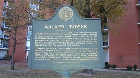 couch tower ou walker tower university of oklahoma norman ok