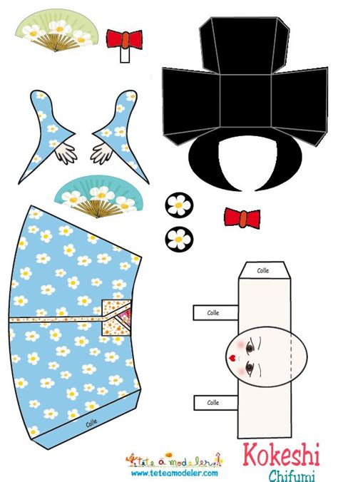 How To Make Papercraft Dolls - 17 best images about hina matsuri day japan on
