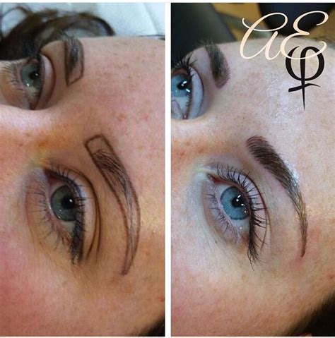 tattoo eyebrow infection 55 best brow microblading images on pinterest brow