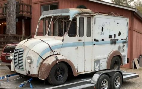divco milk truck project