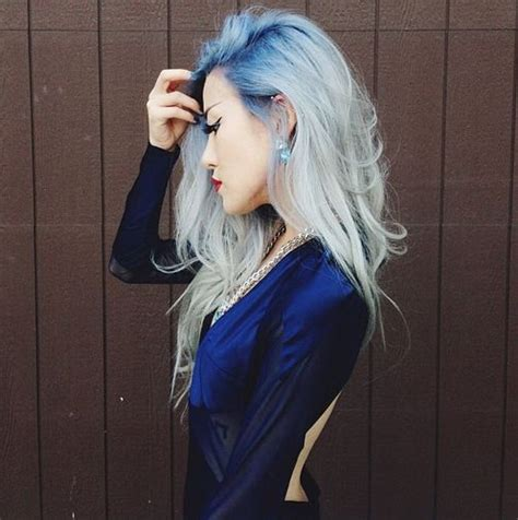 Silver Blue Long Hair Pictures Photos And Images For Facebook | pastel blue and silver long hair full dose