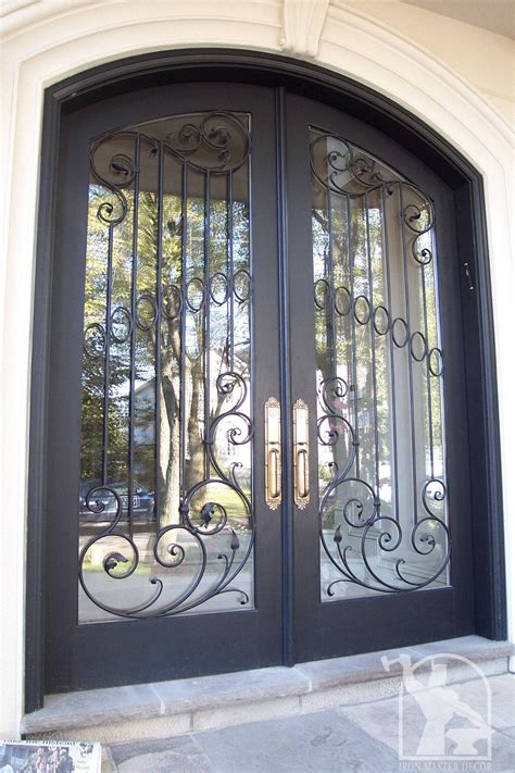 Metal Decor Wrought Iron Front Door Photo Gallery Iron Master