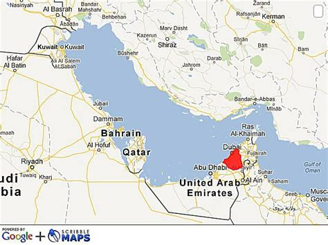 middle east map dubai where is dubai facts and history