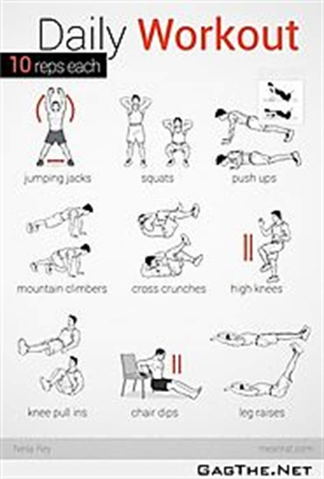 top daily home workouts to burn and be fit