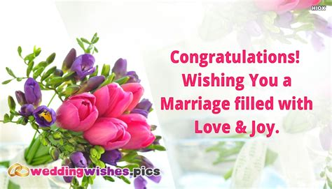 Wedding Wishes Congratulations by Congratulations Wishing You A Marriage Filled With