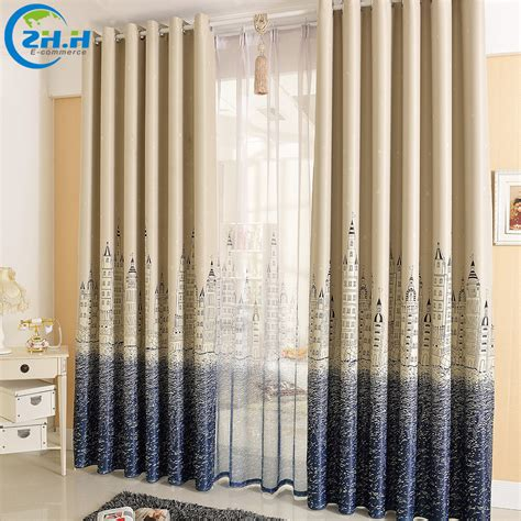 mediterranean style curtains single panel punching window curtains mediterranean